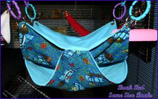 bunk bed hammock hanging ratropolis  life with rats   rat hammock tutorials  rh   ratropolis