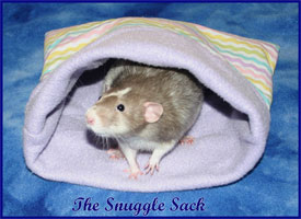 Snuggle Sack With Rat